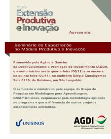 Peça produzida para o Facebook oficial da Agência Gaúcha do Desenvolvimento e Promoção do Investimento (AGDI)